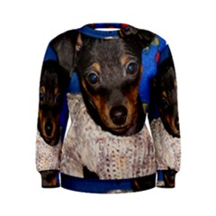 Min Pin In Sweater Women s Sweatshirt