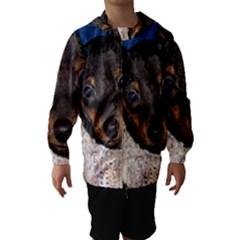 Min Pin In Sweater Hooded Wind Breaker (Kids)