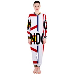 Newfoundland Name Flag OnePiece Jumpsuit (Ladies)