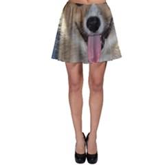 Pembroke Welsh Corgi Puppy Skater Skirt