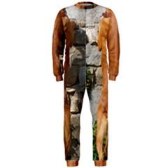 Rhodesian Ridgeback Standing OnePiece Jumpsuit (Men)