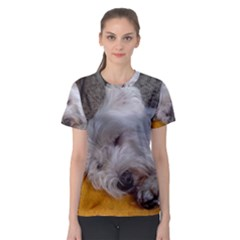 Westy Sleeping Women s Sport Mesh Tee