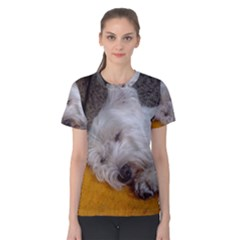 Westy Sleeping Women s Cotton Tee