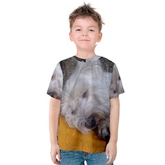 Westy Sleeping Kids  Cotton Tee