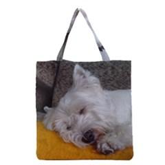 Westy Sleeping Grocery Tote Bag