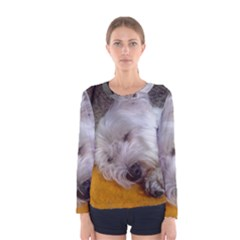 Westy Sleeping Women s Long Sleeve Tee