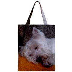 Westy Sleeping Zipper Classic Tote Bag
