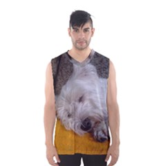 Westy Sleeping Men s Basketball Tank Top
