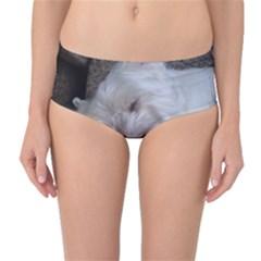 Westy Sleeping Mid-Waist Bikini Bottoms