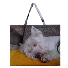 Westy Sleeping Zipper Large Tote Bag
