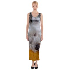 Westy Sleeping Fitted Maxi Dress