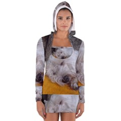 Westy Sleeping Women s Long Sleeve Hooded T-shirt