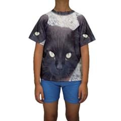Manx Kids  Short Sleeve Swimwear