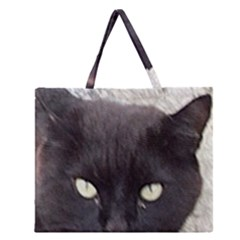 Manx Zipper Large Tote Bag