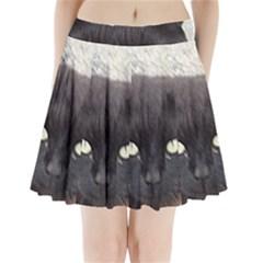 Manx Pleated Mini Skirt