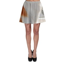 Norwegian Forest Cat Sitting 4 Skater Skirt