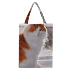 Norwegian Forest Cat Sitting 4 Classic Tote Bag