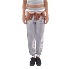 Norwegian Forest Cat Sitting 4 Women s Jogger Sweatpants