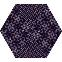 WOV2 BK-PR MARBLE Mini Folding Umbrellas