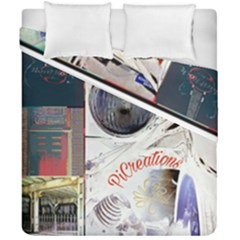 Picreations V Duvet Cover Double Side (california King Size)