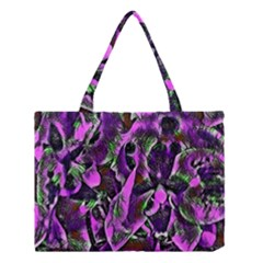 Floral  Fantasy, Pink Medium Tote Bag