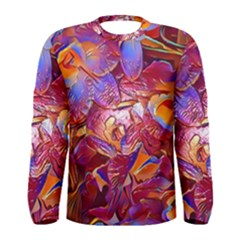Floral Artstudio 1216 Plastic Flowers Men s Long Sleeve Tee