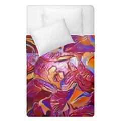 Floral Artstudio 1216 Plastic Flowers Duvet Cover Double Side (single Size)