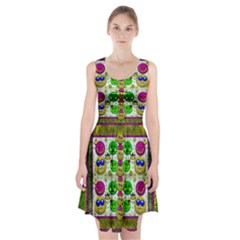 Smile And The Whole World Smiles With You Racerback Midi Dress