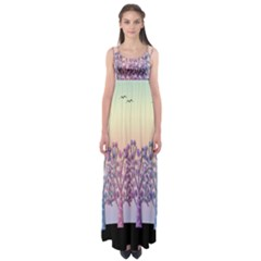 Magical hill Empire Waist Maxi Dress
