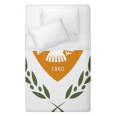 Coat Of Arms Of Cyprus Duvet Cover (single Size)
