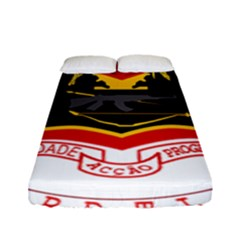 Coat Of Arms Of East Timor Fitted Sheet (full/ Double Size)