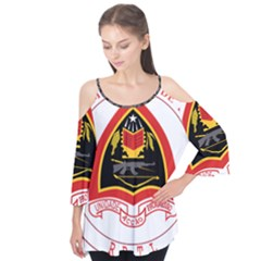 Coat Of Arms Of East Timor Flutter Tees