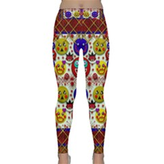Smile And The Whole World Smiles  On Classic Yoga Leggings