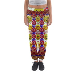 Smile And The Whole World Smiles  On Women s Jogger Sweatpants