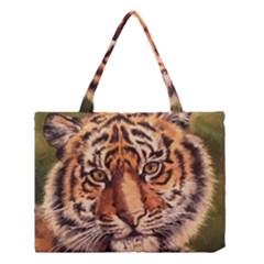 Tiger Cub Medium Tote Bag