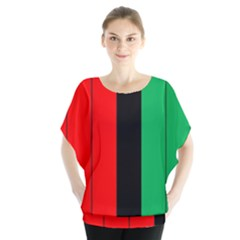 Kwanzaa Colors African American Red Black Green  Blouse