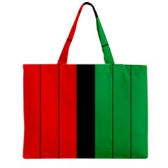 Kwanzaa Colors African American Red Black Green  Medium Tote Bag