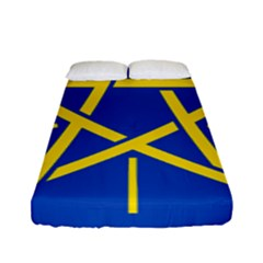 National Emblem Of Ethiopia Fitted Sheet (full/ Double Size)