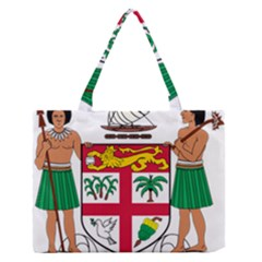 Coat Of Arms Of Fiji Medium Zipper Tote Bag
