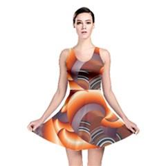 The Touch Digital Art Reversible Skater Dress