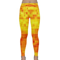 Background Image Abstract Design Classic Yoga Leggings