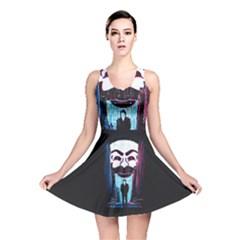 Mr Robot Reversible Skater Dress