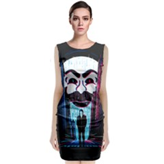 Mr Robot Classic Sleeveless Midi Dress