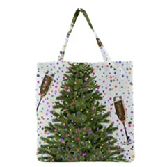 New Year S Eve New Year S Day Grocery Tote Bag