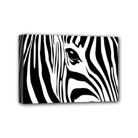 Animal Cute Pattern Art Zebra Mini Canvas 6  X 4