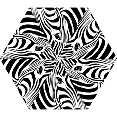 Animal Cute Pattern Art Zebra Mini Folding Umbrellas