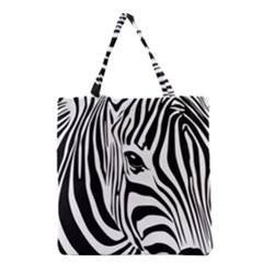 Animal Cute Pattern Art Zebra Grocery Tote Bag