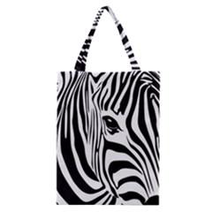 Animal Cute Pattern Art Zebra Classic Tote Bag