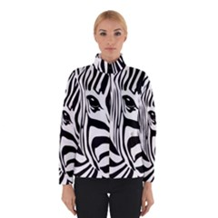 Animal Cute Pattern Art Zebra Winterwear