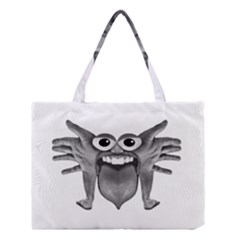 Body Part Monster Illustration Medium Tote Bag